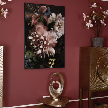 Floral Glass Wall Art | Taylors on the High Street