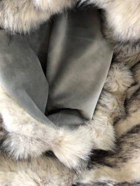 James Brindley Arctic Fox Faux Fur Throw | Taylors on the High Street
