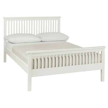Bentley Designs Atlanta White High Footend Bedstead | Taylors on the High Street