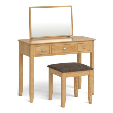 Bath Oak Dressing Table Set