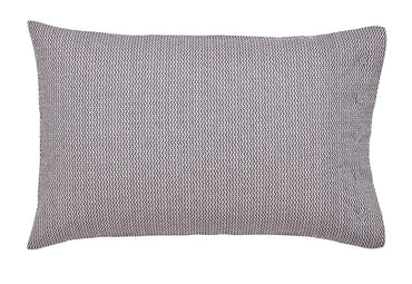 Bedeck Of Belfast Dhaka Charcoal Standard Pillow Case Pair