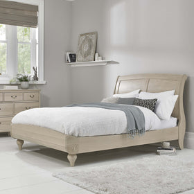 Bentley Designs Chalk Oak Low Footend Bedstead | Taylors on the High Street