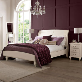 Bentley Designs Ivory Low Footend Bedstead | Taylors on the High Street