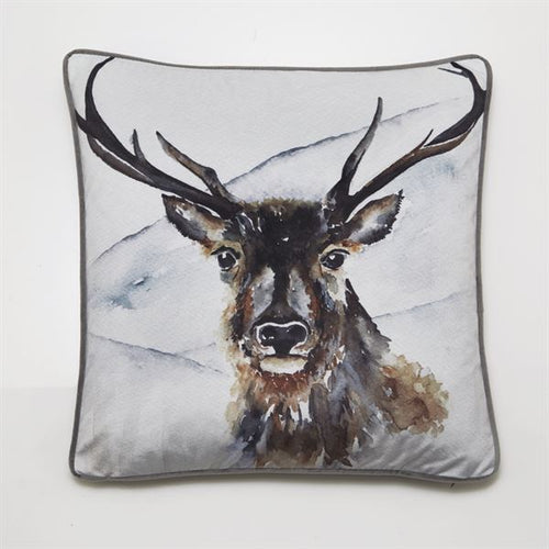 Malini Juniper Boris Stag Cushion | Taylors on the High Street