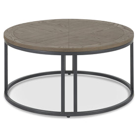 Bentley Designs Chevron Weathered Ash Coffee Table | Taylors on the High Street