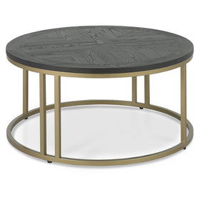 Bentley Designs Chevron Peppercorn Ash Coffee Table | Taylors on the High Street