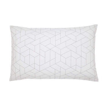 DKNY Paley Park Grey Standard Pillow Case Pair