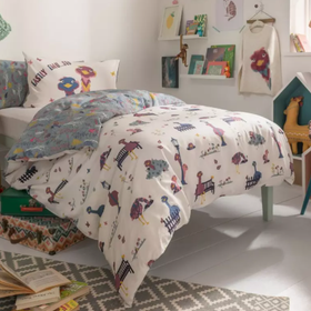 Fat Face Elsie Emu Duvet Set | Taylors on the High Street