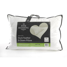 Duck Feather & Down Pillow (Pair)