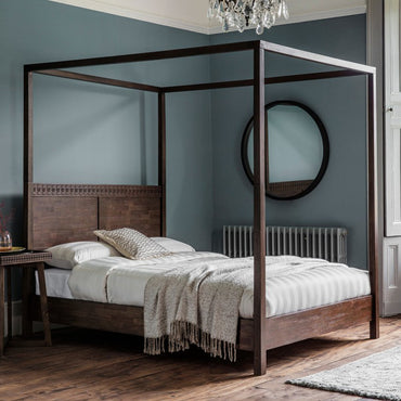Gallery Boho Retreat 4 Poster Bed | Taylors on the High Street