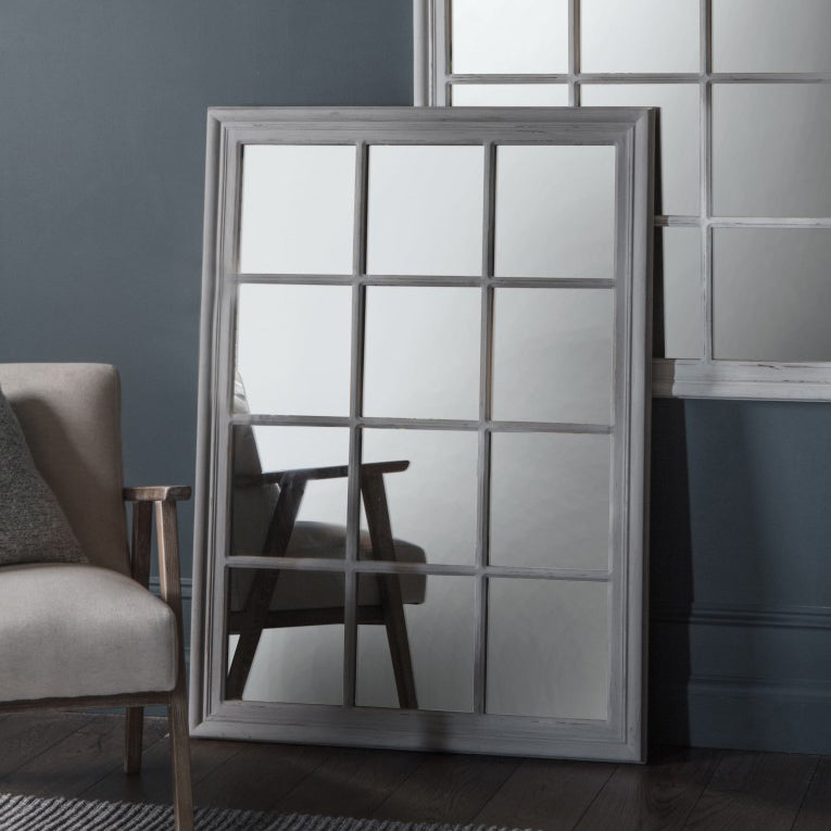 Costner Grey Distressed Mirror