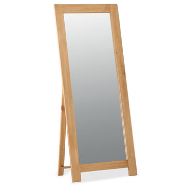 Salisbury Oak Cheval Mirror