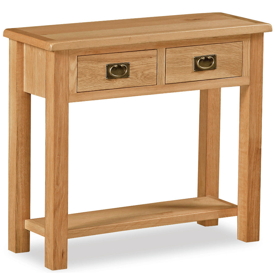 Salisbury Lite Oak Large Hall Table