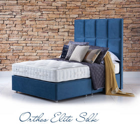 Orthos Elite Silk Super King Divan Set