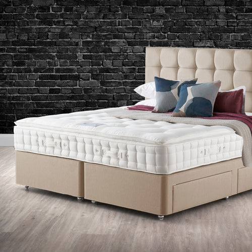 Astral Pillow Top Super King Divan Set