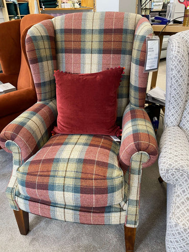 Tetrad Stamford Wing Chair - Warwick Eltham Autumn (Ex-Display Model)