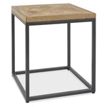 Bentley Designs Indus Rustic Oak Lamp Table | Taylors on the High Street