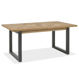 Bentley Designs Indus Rustic Oak 4-6 Dining Table | Taylors on the High Street