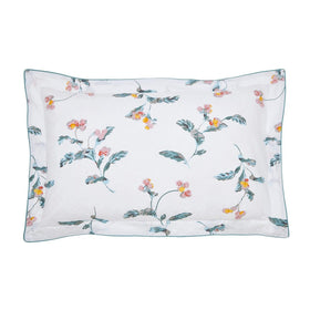 Joules Swanton Floral Oxford Pillowcase | Taylors on the High Street