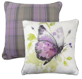 Evans Lichfield Country Butterfly Cushion | Taylors on the High Street