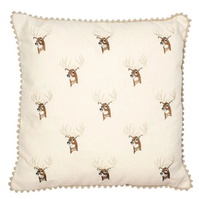 Malini Cervo Stag Cushion | Taylors on the High Street