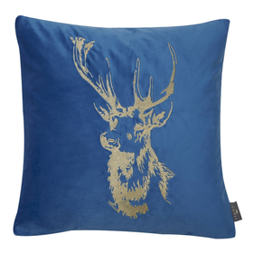 Malini Juniper Patronus Stag Cushion | Taylors on the High Street