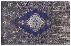 Mindy Brownes Jacquard Blue Rug | Taylors on the High Street