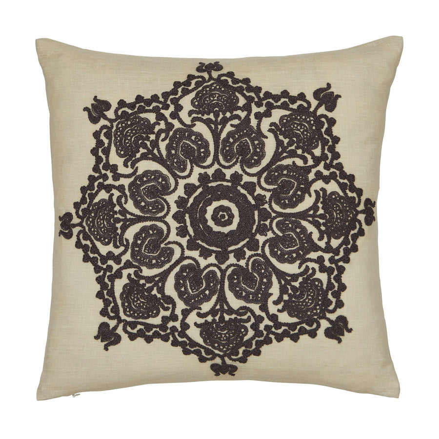 Morris & Co Bullerswood Charcoal Cushion 40x40cm