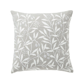 Morris & Co Pure Pimpernel Light Grey Cushion 45x45cm