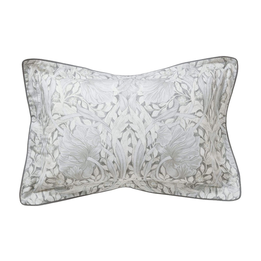 Morris & Co Pure Pimpernel Light Grey Oxford Pillow Case