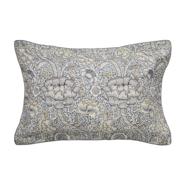 Morris & Co Wandle Grey Oxford Pillow Case