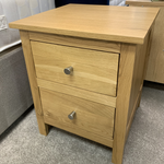 Corndell Nimbus 2 Drawer Bedside Chest | Taylors on the High Street