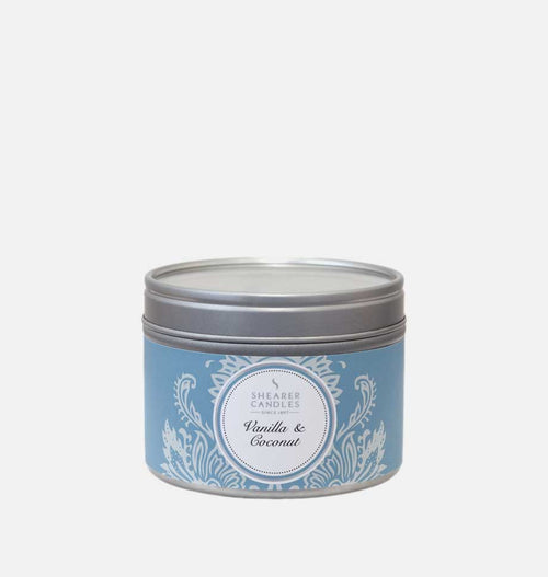Vanilla & Coconut Candle Small Tin