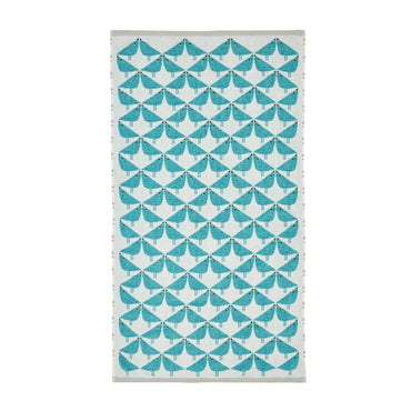 Scion Lintu Teal Towel (Hand & Bath Sizes Available)