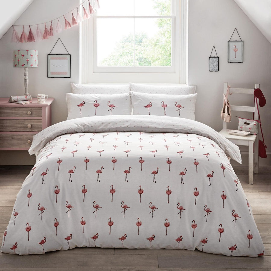 Sophie Allport Flamingo Bedding Set