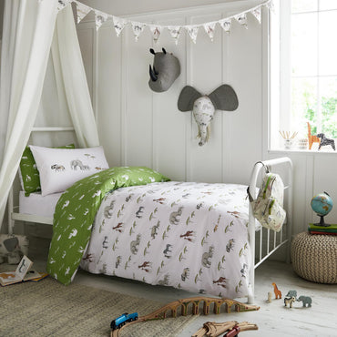Sophie Allport On Safari Green Bedset