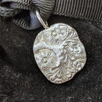 Malcolm Appleby Sterling Silver Flowers Pendant