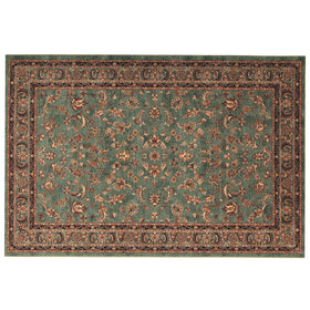 The Vintage & Modern Rug Co Sultan Green Ispahan Rug | Taylors on the High Street