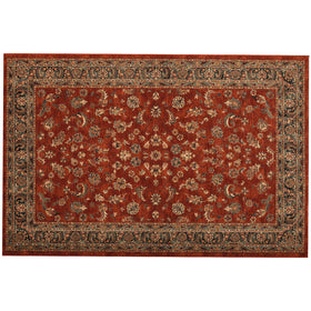 The Vintage & Modern Rug Co Sultan Terracotta Ispahan Rug | Taylors on the High Street