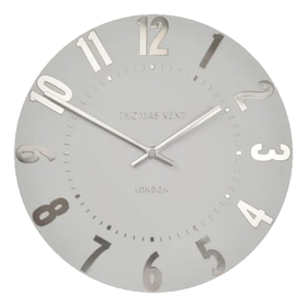 Thomas Kent Mulberry Silver Cloud Clock | Taylors on the High Street