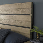 Bentley Designs Tivoli Weathered Oak Low Footend Bedstead | Taylors on the High Street