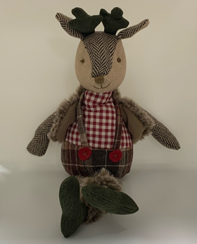 Walton Mr Deer Cuddly Toy | Taylors on the High Street