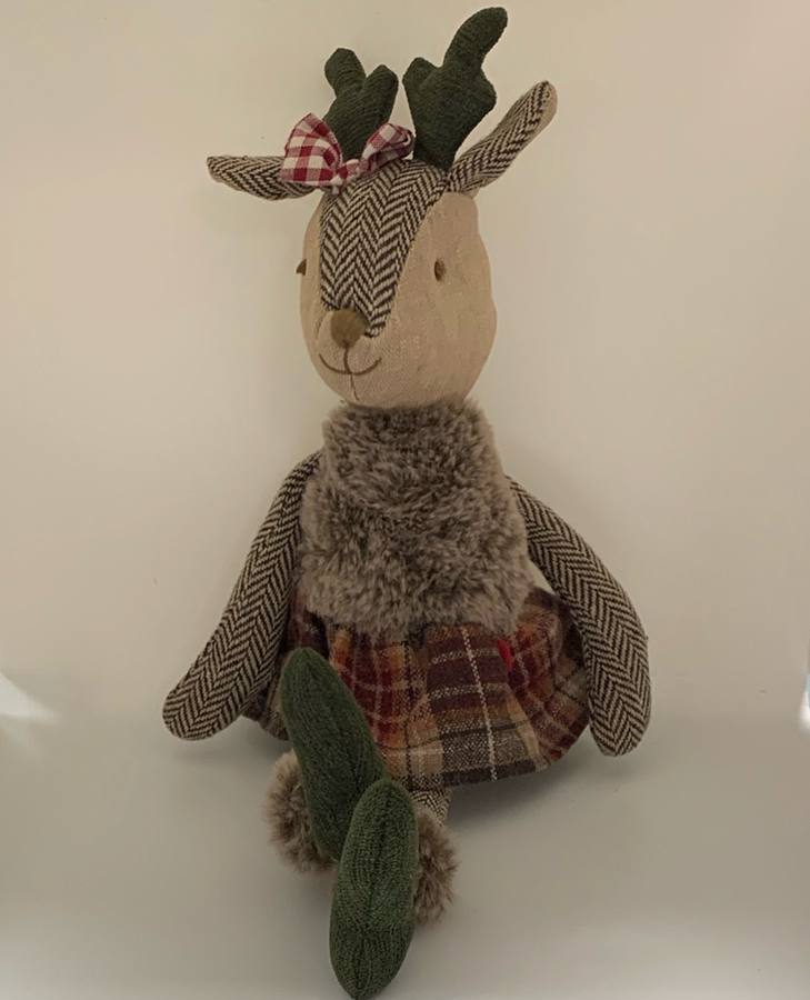 Walton Mrs Deer Cuddly Toy | Taylors on the High Street