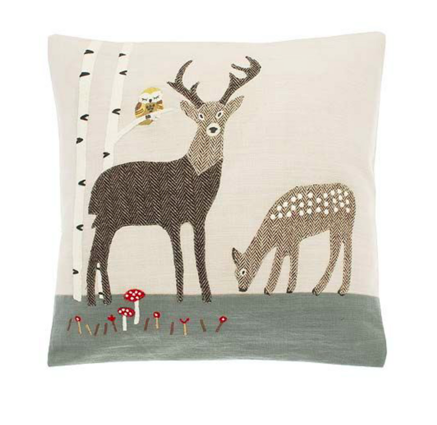 Walton Stag Cushion | Taylors on the High Street