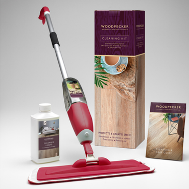 Woodpecker Oiled Wood Cleaning Kit | Taylors on the High Street