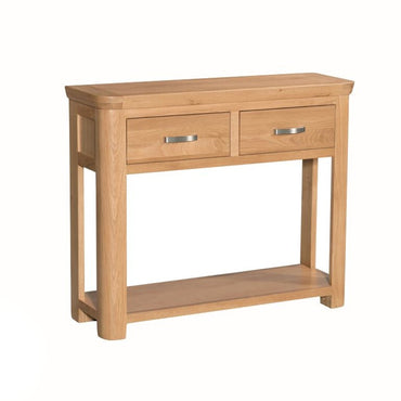 Darrach Oak Large Console Table
