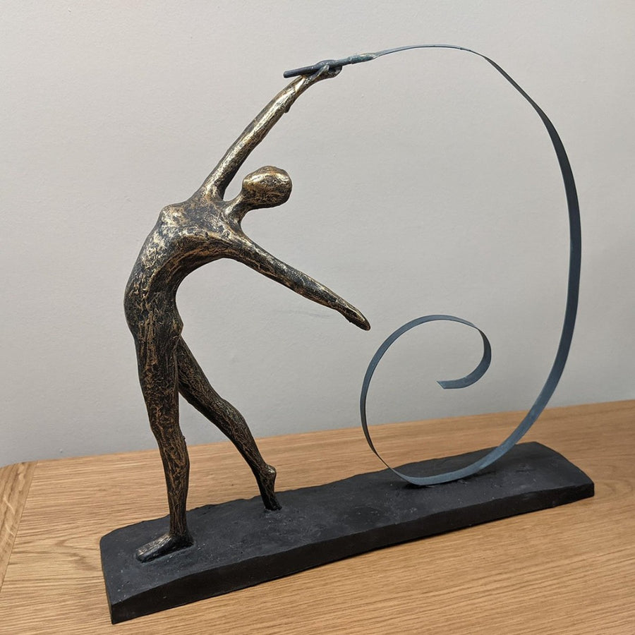 Libra Female Gymnast Sculpture | Taylors on the High Street