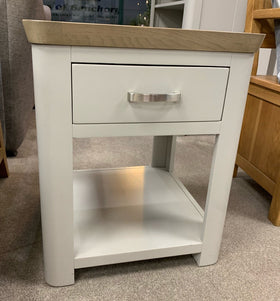 Annaghmore Darroch End Table with Drawer | Taylors on the High Street