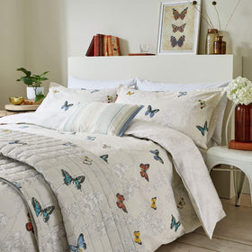 Sanderson Wisteria & Butterfly Duvet Set | Taylors on the High Street