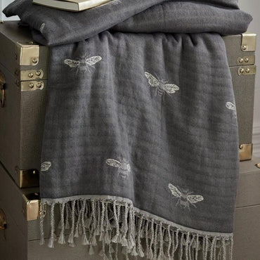 Sophie Allport Bee Throw | Taylors on the High Street